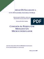 CONEXIÓN AL PUERTO USB MEDIANTE UN MICROCONTROLADOR