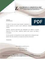 Carta de Presentacion Reparto Horizontal