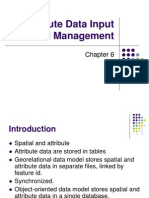 6-Attribute Data Input and Management