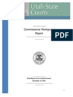 Utah District Court Commissioner Study Report 2014
