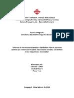 Análisis de las desigualdades en Autodeterminación