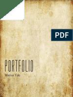 P9MarisaYde Portfolio