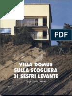 Villa Domus sulla scogliera di Sestri Levante. Luigi Carlo Daneri