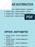 Romance Math Humor 20110413