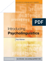P. Warren - Introducing Psycholinguistics