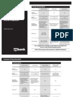 Consumer Pricing Information Brochure