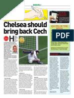 Chelsea Should Bring Back Petr Cech