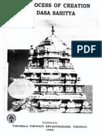 Creation Dasa Sahitya