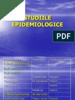 STUDIILE EPIDEMIOLOGICE