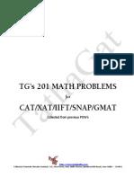 TG s 201 Math Problems