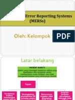 Sistem Pelaporan Medication error