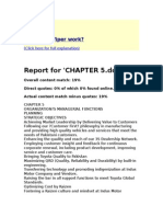 Chapter 5 toyota report