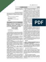 D.S. N° 008 - 2014-MINEDU_Contrato docente, Auxiliares de Educación y Bonificaciones