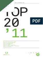 TOP 20 2011 Publicacion