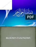 Bloom.taxanomy