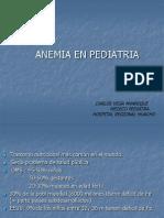 Anemia en Pediatria