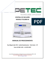Manual de Procedimento - TEC-2800M