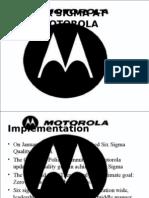 Six Sigma of Motorola