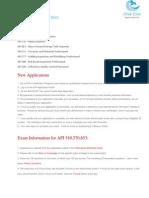 API Courses Details