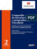DGDOJ Compendio Doctrina Legal y Jurisprudencia Tomo II
