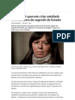 PSD e CDS Querem Criar Entidade Fiscalizadora Do Segredo de Estado - PÚBLICO