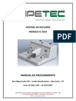 Manual de Procedimento CI 2014