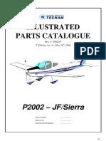 P2002 JF&Sierra - Parts Catalogue