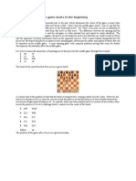 Chess Tactics - Middle Games Starts From the Opening