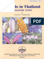 Orchids in Thailand- A Success Story