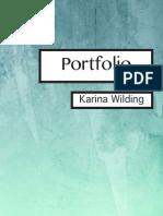 Portfolio- Karina Wilding