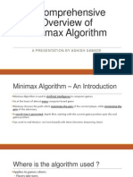Seminar Ppt(Minimax Algorithm)