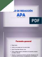 Redaccion APA