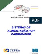 Sistemas de Alimentação Por Carburador