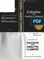 Calculus With Analytic Geometry SM Yusuf (Solution Manual)