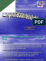 Exploración de la Audición.ppt