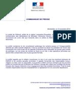 Le préfet de l'Hérault au président de l'Union des Musulmans de Lunel