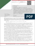 Reglamento Subsidio Lineas Acceso a Troncal Proyectos ERNC