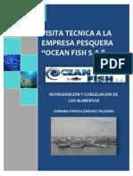 Visita Tecnica a La Empresa Pesquera