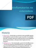 Otros Antinflamatorios No Esteroideoos