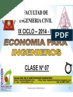 Clase 07 ECONOMIA PARA ING 2014 Ii [Modo de compatibilidad].pdf