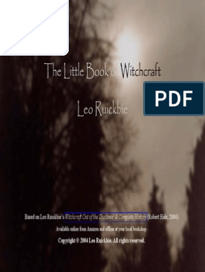 Little Book of Witchcraft | Contemporary Witchcraft | Witchcraft
