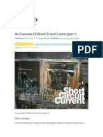 An Overview of Short Circuit Current Part 1