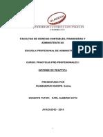 INFORME  PRACTICA PRE-PROFESIONAL - SULMA (1).docx