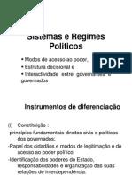 Regimes e Sistemas Politicos
