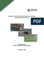 Manual en Iniciacion Deportiva en Remo