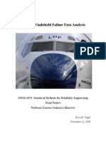 Aircraft Windshield Reliability Final Paper