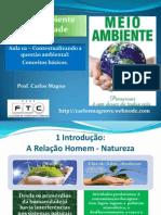 Aula 02 - Conceitos Básicos de Meio Ambiente