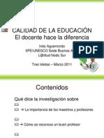 DIAPOSITIVAS Conferencia Ines Aguerrondo en Tres Isletas-2