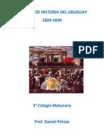 Manual de historia del Uruguay (1820 - 1830)