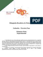 Prova experimental OBF 2006